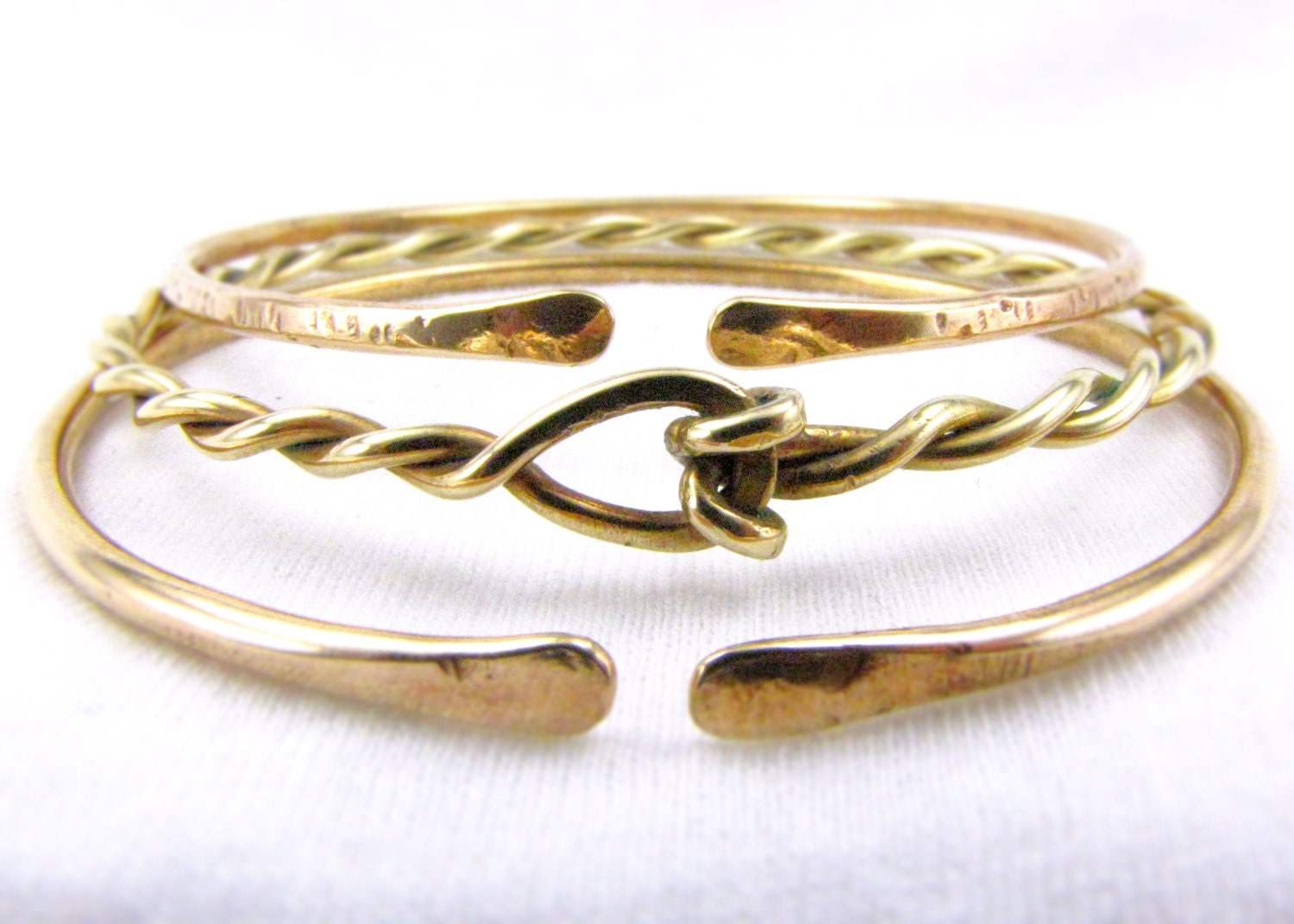 StAcKinG BaNgLe SeT: Stackable Bracelets Stacking by Cuprum29