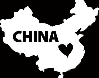 China Window Decal