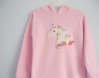 Unicorn t-shirt or hoodie - children's t shirt with unicorn - kids clothes - kidswear