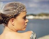 Vaudeville -  Art Deco Bohemian Crystal Headpiece
