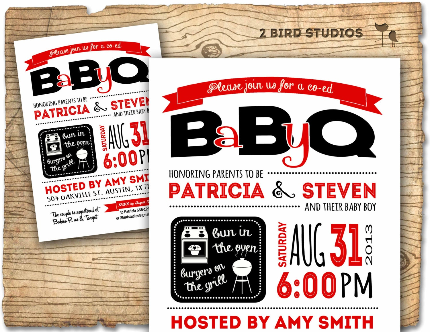 baby q invitation bbq baby shower coed baby shower bbq