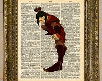 Avatar: The Last Airbender Azula Dictionary Art
