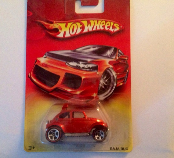Hot Wheels Vw Baja Bug Exclusive 1983 Casting Mip Spectra