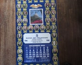 Civic Lesson 1994  Wall Calendar Presidents Constitution Bank of Trumann
