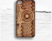 iPhone 6S Case, iPhone 6S Plus Case Camera, iPhone 5s Case Chevron, iPhone 6 Case, Geometric iPhone Case, Faux Wood Print iPhone Cover N13