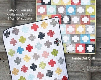Inside Out Quilt Pattern - Cluck Cluck Sew - Allison Harris - Ships free with any purchase