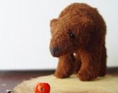 Brown Bear soft sculpture