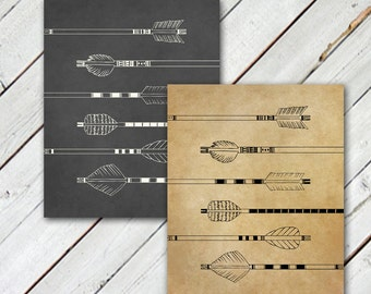 6 Arrows // Print