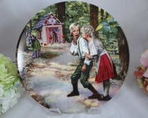 """1982 Konigszelt Bayen Classic Fairy Tales  - """"Hansel and Gretel"""" - Limited Edition Collector Plate"""