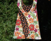 Reversible Halloween and Thanksgiving Dress, Size 2T