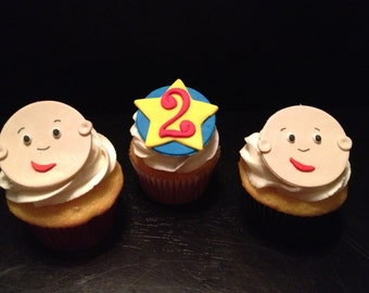 Caillou decorations Etsy