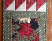 GEESE mug rug pattern, snack mat, candle mat