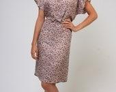 Sale Liberty print raglan wrap summer dress