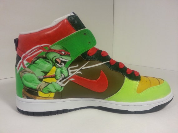 Ninja Turtle Shoes Nike