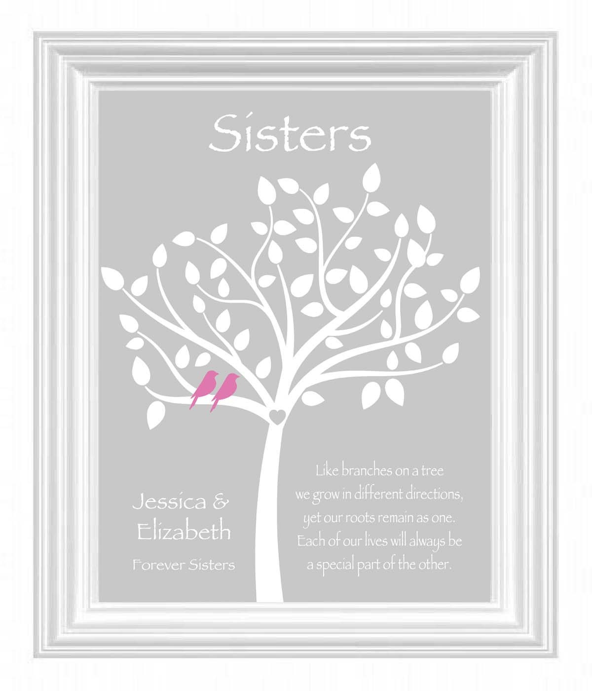 Gift For Sister In Law On Wedding Day : Sister Gift Personalized Gift for Sister Wedding Gift for