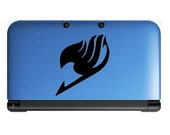 Fairy tail logo Anime Decal for Nintendo 3ds, Macbooks, Laptop, iPhone, XBox, Playstation, Cars, Windows, Wall