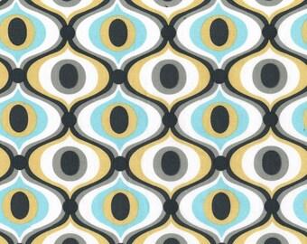 Feeling Groovy in Charcoal - Michael Miller Fabrics