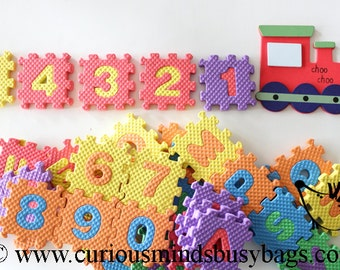 SALE - Alphabet Number Train