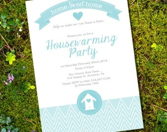 Housewarming Invitation - Housewarming Party - Instantly Downloadable and Editable File - Print at Home!