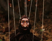 Custom Made Large, hand-made Marionette, 8 strings, Made-to-order