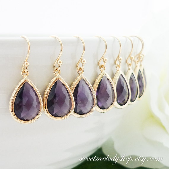 Wedding Gift Jewelry : of 6 Bridesmaid Gift Wedding Jewelry Bridal Jewelry Bridesmaid Jewelry ...