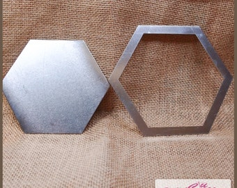 Metal Patchwork Template - Hexagon 25mm