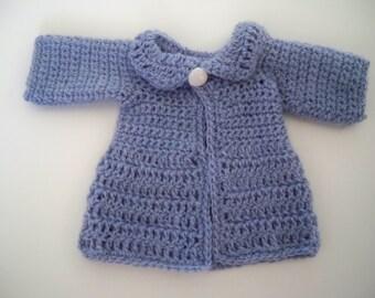Crocheted Coat for Blythe Doll