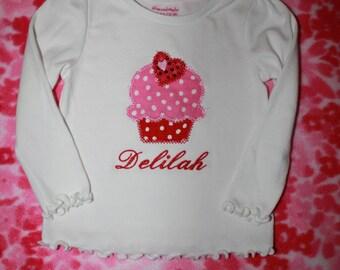 Cupcake T-shirt or Onesie