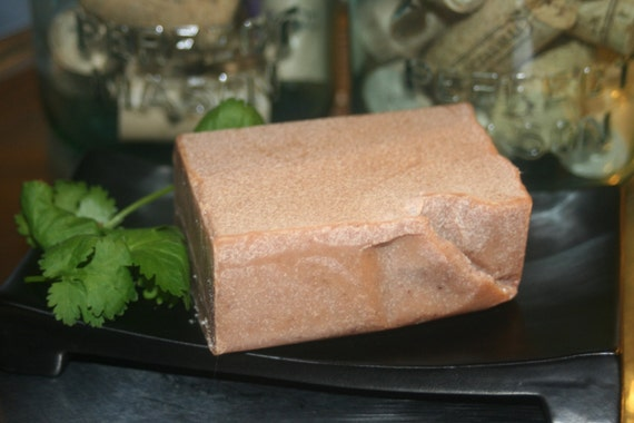 Luxury Face & Body Grapefruit  Ylang Castille Soap with Organic oils Vegan essential oil Large 5.3 oz bar