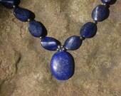 Grade A Lapis Lazuli Stone necklace