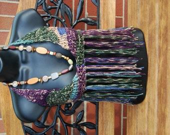 Songbird  Crochet Hippie Halter Top