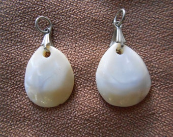 Natural Sea Shells Handcrafted Into Teardrop Pendants (2)