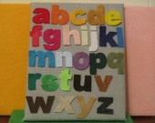 Felt Alphabet Letters -  LOWERCASE