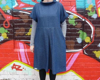 The Fulwood - Loose pull-on shift dress sewing pattern
