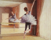 """Original acrylic painting """"Dancing in the light"""" by Anna Starkova"""