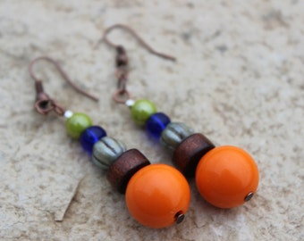 BoHo Earrings mixed colors