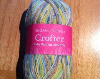 Sirdar DK Wool / Yarn - Snuggly CROFTER DK Yarn 50g - 0163 - Angus - Lot 136431