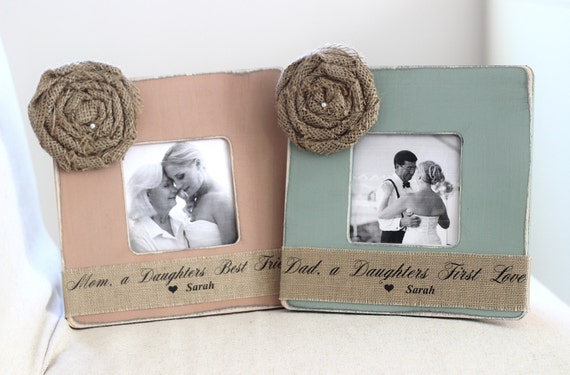 Wedding Gifts For Parents: Wedding Gifts For Parents Thank You Gift By CrystalCoveDS