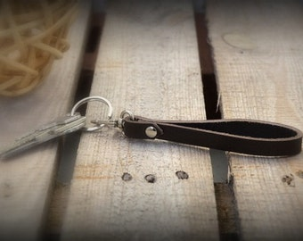 Key Chains//Leather//Brown