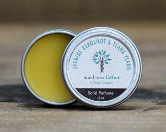 Jasmine Bergamot & Ylang Ylang Solid Perfume