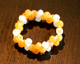 Glow in the Dark Bracelets - Several Colors Available - Pastel - Great Children's Gift - Pony Bead Bracelet