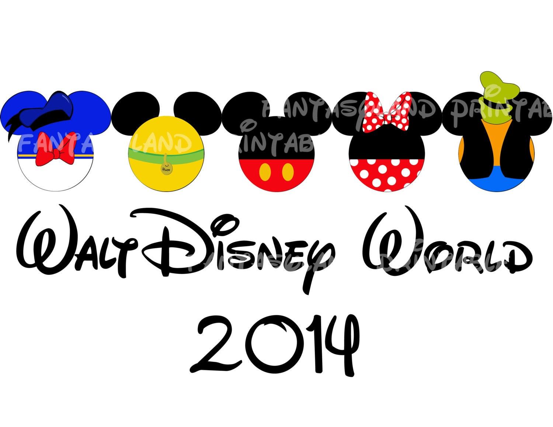 Walt Disney World Fab Five Mickey Gang Family Trip 2014 DIY