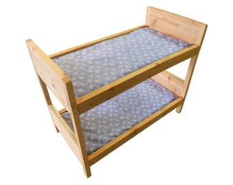 18 doll bunk bed plans
