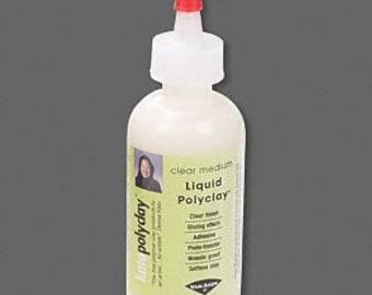 Kato liquid polyclay, clear medium