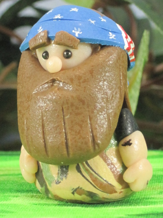 Redneck Gnome Inspired By Willie Of Duck Dynasty By
