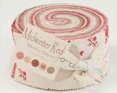 DECEMBER SALE - Midwinter Reds by Minick & Simpson for Moda