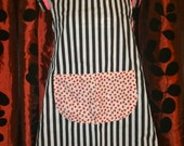 Strawberry Stripes Apron