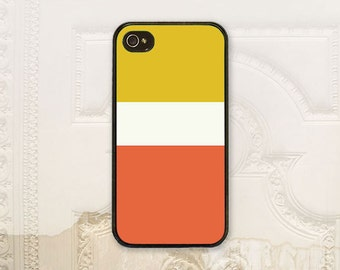Mustard yellow, Cream ivory, Koi orange Color block phone case iPhone 4 4S 5 5s 5C 6 6+ Plus, Samsung Galaxy s3 s4 s5 s6 Pantone D5104