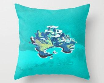 Peter Pan Never Neverland Pillow Cover