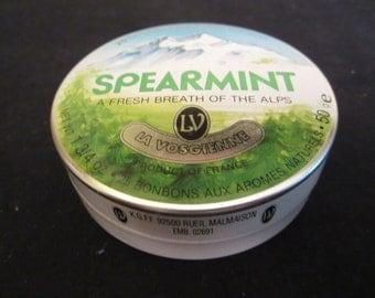 French Spearmint Tin Can